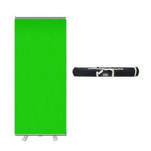"47"" x 81"" Portable Video Conference Green Screen"