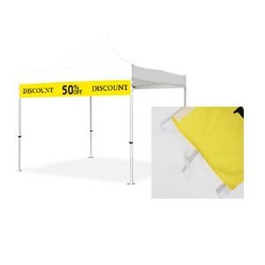 Valance Banner for 10' Tent