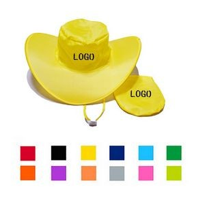 Folding Cowboy Hat with Pouch