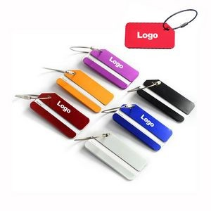 Luggage Travel Tags Metal Suitcase Bag ID Tag