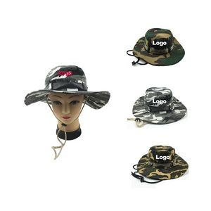 Military Camouflage Fishing Boonie Hat Hunting Bucket Hats