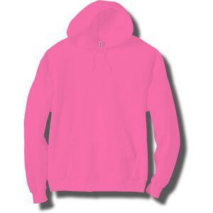 Neon Pink Adult Pullover Hooded Sweatshirt NTHDADPK #1: QPic SN= &P= &RS=300