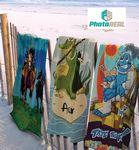 Custom 30x60 Full Color Cotton/Microfiber Edge to Edge Printed Beach Towels, 11.0 Lbs/ Dz. by Subli Mate
