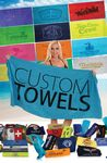 Custom 28x58 Economy Terry Velour Beach Towel / 8.5 lbs per dz.
