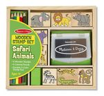 Custom Safari Animal Stamp Set