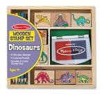 Custom Dinosaur Stamp Set