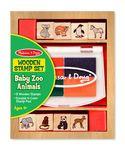 Custom Baby Zoo Animal Stamp Set