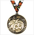 Custom In Stock Pumpkin Medal