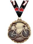 Custom Quick Ship Bike Medal