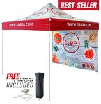Custom 10'x10' Commercial Steel Printed Tent & Wall