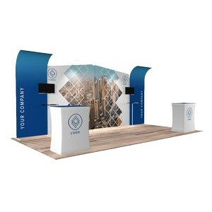10'x20' Quick-N-Fit Booth - Package # 1214