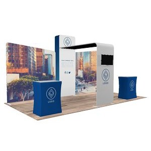 10'x20' Quick-N-Fit Booth - Package # 1202