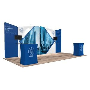 10'x20' Quick-N-Fit Booth - Package # 1208