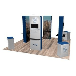 20'x20' Quick-N-Fit Booth - Package # 2202