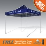 Custom Fast Production Printed Pop Up Canopy Tent in 5 Days