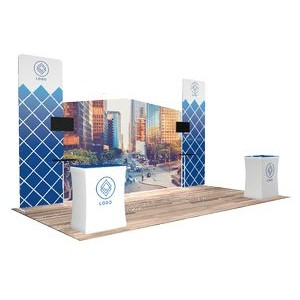 10'x20' Quick-N-Fit Booth - Package # 1205