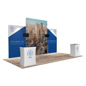10'x20' Quick-N-Fit Booth - Package # 1213