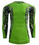 Custom Fully sublimated Adult Long sleeve rash guard/ Compression shirt
