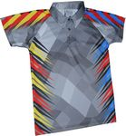 Custom Fully Sublimated Men's Adult polo shirt