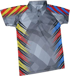 Fully Sublimated Mens Adult polo shirt