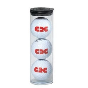 3 Golf Balls in Tube