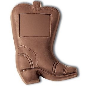 Molded Chocolate Cowboy Boot (1 Oz.)