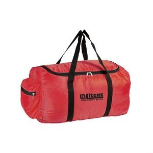 The Dynamic Duffel Bag - Red
