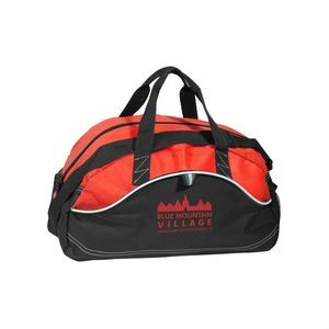 The Streetwise Duffel Bag - Red