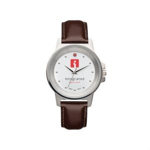 The Refined Watch - Ladies - White/Red/Brown