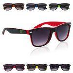 Custom Two-Tone Malibu Sunglasses