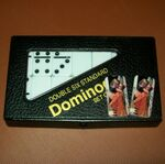 Custom Custom Printed Personalized Domino Set - Double 6