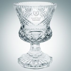 Lead Crystal Bradford Trophy Cup (Large)