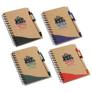 Recycle Write Notebook & Pen