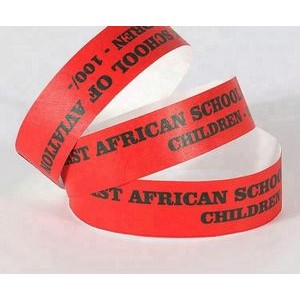 School Tyvek Wristbands