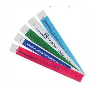 Clubs and Organizations Tyvek Wristbands