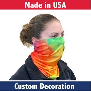 Economy Fabric Adult Neck Gaiter- Made in the USA
