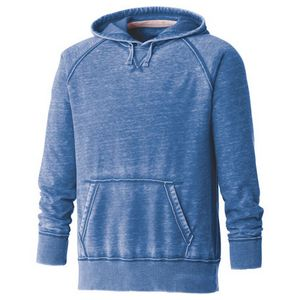 Custom M-Burnout Fleece Kanga Hoody