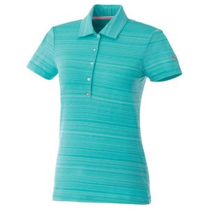 Custom W-Puma Golf Barcode Stripe Polo