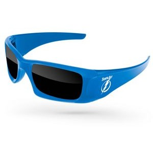 Wrap Sunglasses w/1 Color Temple Imprint