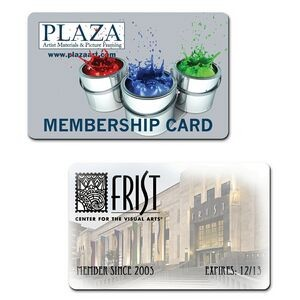 Promotional Full Color Plastic Wallet Cards