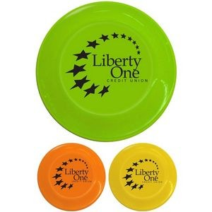 "9"" Plastic Flying Disc"