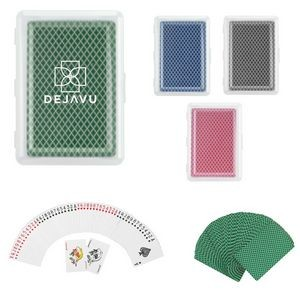 Customizable Deck of Cards in a Case