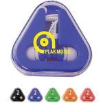 Custom Earbuds w/ Triangle Case