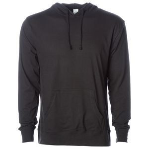Independent Trading Company Men's Lightweight Jersey Hooded Pullover