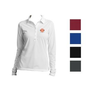 Nike Ladies' Long Sleeve Dri-FIT Stretch Tech Polo