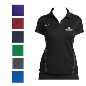 Nike Ladies' Dri-FIT Sport Swoosh Pique Polo