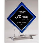Custom Digitally Printed Diamond Award 8.5x10