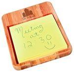 Custom 3-5/8x4.5 Bambo Desk Note Holder