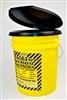 Custom Honey Bucket Port-a-Potty w/ Lid