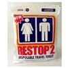 Custom Rest Stop 2 Disposable Travel Toilet
